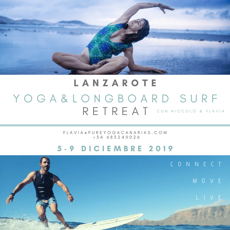 YOGA&LONGBOARD SURF RETREAT LANZAROTE